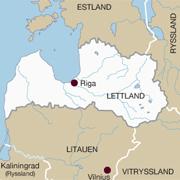 lettland karta Lettland – skogsland med potential   Skogssällskapet.se lettland karta